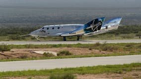 Virgin Galactic launches Richard Branson, 5 others into space