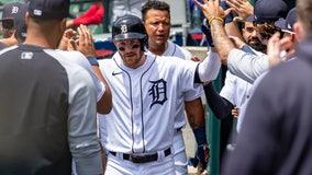 Grossman homers as Tigers blank Twins 1-0