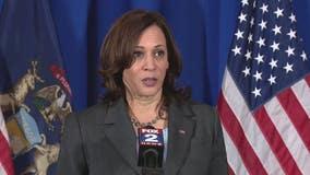 Vice President Kamala Harris 1-on-1 in Detroit makes vaccination plea