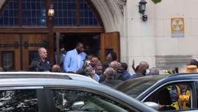 Kwame Kilpatrick gets married at Little Rock Baptist Church