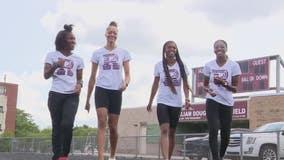 Record-setting Renaissance girls track stars wins gold at national championships