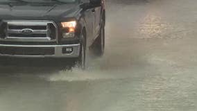 Heavy rain again closes I-94 in Detroit after June's closure that lasted days
