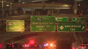 Police investigate road rage freeway shooting on I-96 in Detroit