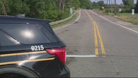 Road now open after sinkhole closes Dequindre in Rochester Hills