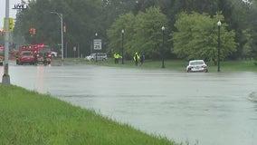 Wayne County under flood warning; flood advisory issued for Macomb, Oakland, Washtenaw counties