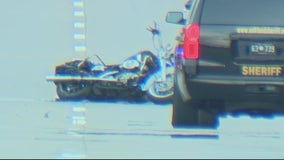 Fatal traffic accident in Pontiac after Jeep turns in front of Harley Davidson motorcycle
