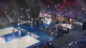 Detroit Pistons to open NBA-first courtside bar behind visitors