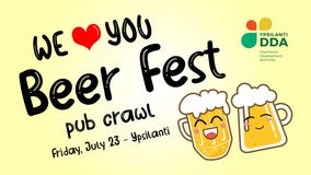 Ypsilanti DDA hosting pub crawl after cancelation of Summer Beer Festival