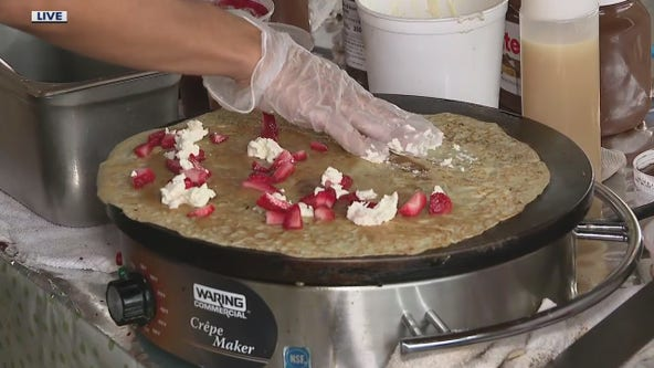 The French Cow Crepes Shop shares pointers on using fresh summer produce