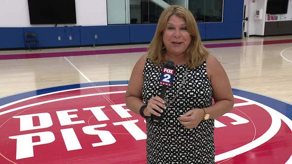 WATCH - Jennifer Hammond has reaction from Pistons GM Troy Weaver after the selection of Cade Cunningham