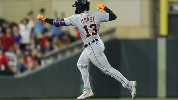 Cabrera, Haase power Tigers past Twins 6-5 in 11th innings