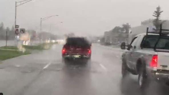 Tornado Warnings lifted in Metro Detroit; flash flood, thunderstorm warnings in place