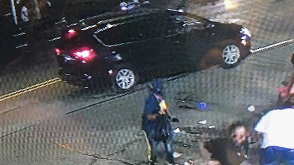 Detroit police release footage of suspect vehicle involved in 6-person shooting at vigil