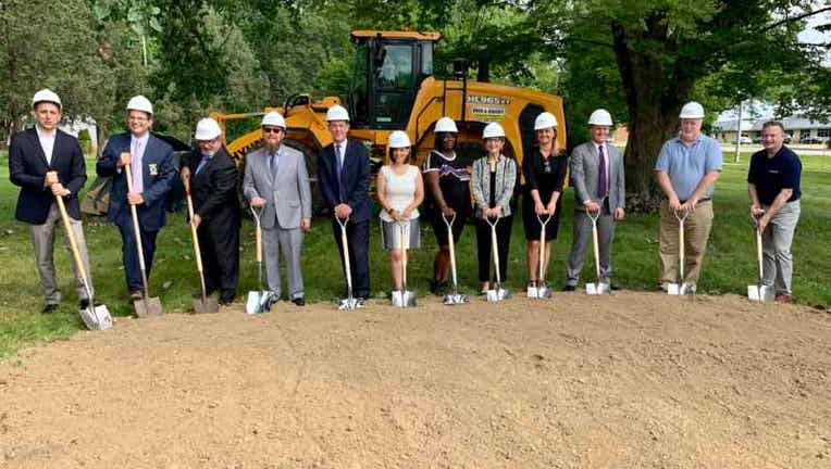 Ground breaking of Coolidge Place in Oak Park