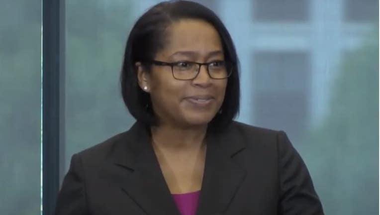 Former Detroit Police Deputy Chief Elaine Bryant