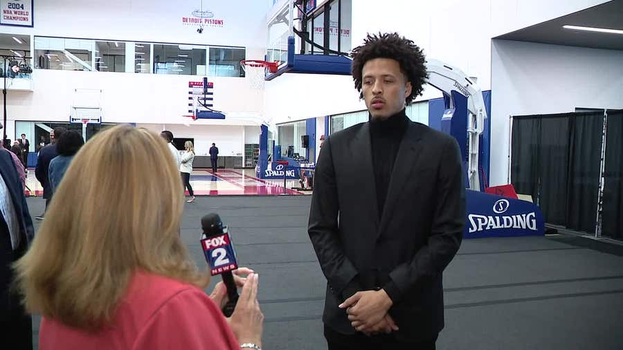 WATCH - Jennifer Hammond goes one-on one-with Pistons draft picks Cade Cunningham & Isaiah Livers