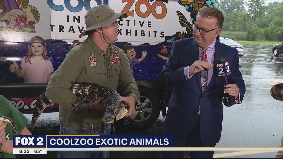 Cool Zoo featured at Oakland County Fair July 9-18th