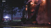 Firefighters battling Westland apartment fire since Wednesday night