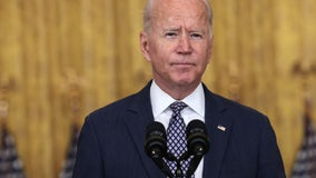 Biden says Afghanistan evacuations 'have a long way to go,' extends safe-zone around Kabul airport