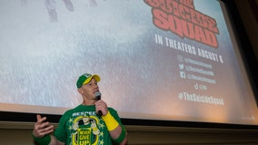 John Cena surprises fans at Suicide Squad showing at Birmingham 8 theater