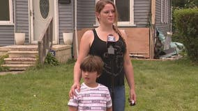 Single mother of 3 loses everything after power line falls causing house fire