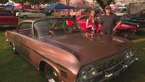 Classic car lovers head to Woodward Avenue for Dream Cruise