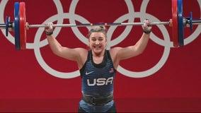 Berkley woman wins silver medal in weightlifting at Tokyo Olympics