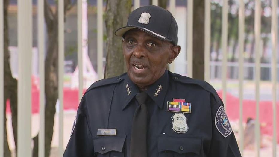 Rsv. Deputy Chief Clarence Smith, Detroit Police