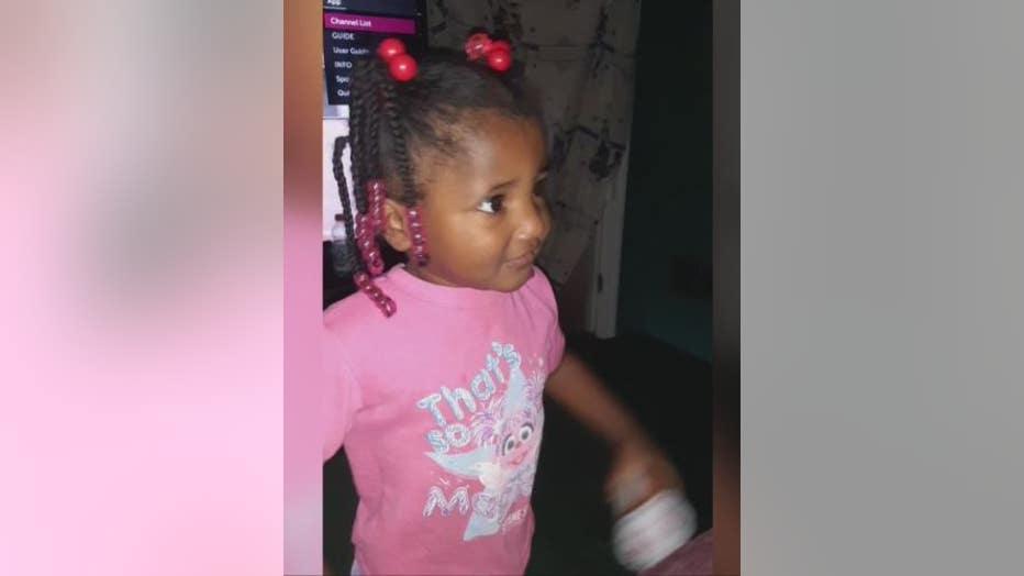 The 2-year-old gunshot victim.