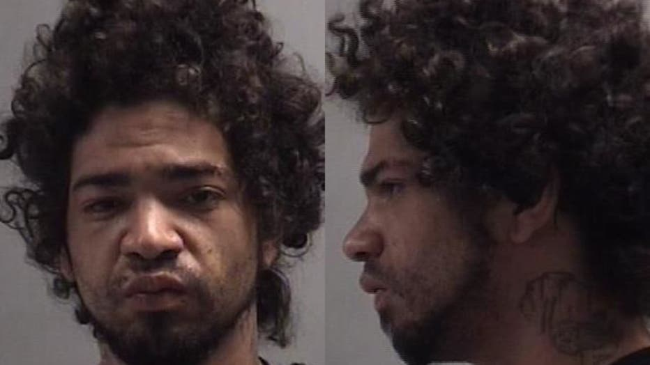 Edgar Ismael Lebron, 28, was given five charges, including three felonies