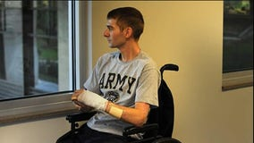 Army officer who lost both legs in Afghanistan reflects on enlisting after Sept. 11th