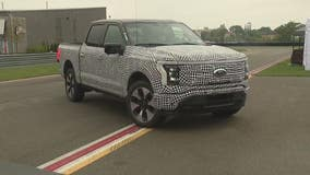 Silent but powerful - the all electric Ford F-150 Lightning at Motor Bella