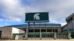 Thorne passes for 4 TDs, Michigan State rolls Youngstown St