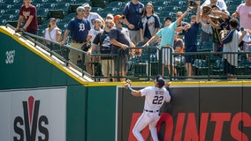 Lowrie, Canha help A's start fast in 8-6 win over Tigers