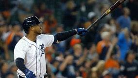 Cabrera 9 hits in row, Schoop, Tigers win; Rays' Franco hurt