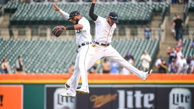 Garneau, Tigers complete 2-game sweep of contending Brewers
