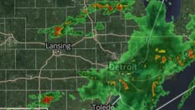 Severe weather rolls through SE Michigan, 45,000 DTE customers without power Wednesday
