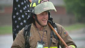 Macomb Twp firefighter to walk to Grand Rapids raising money for fellow first responders battling cancer
