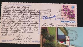 Mystery 50-year-old postcards from around the world come in the mail to Royal Oak couple