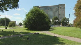 'A walkable gateway': Roosevelt Park getting redesign to connect Michigan Central Station to neighborhoods