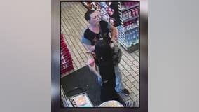 Video: Woman slashes car tire in Livonia 7-Eleven parking lot dispute