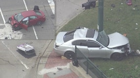 Woman dead after crash at Ford and Canton Center