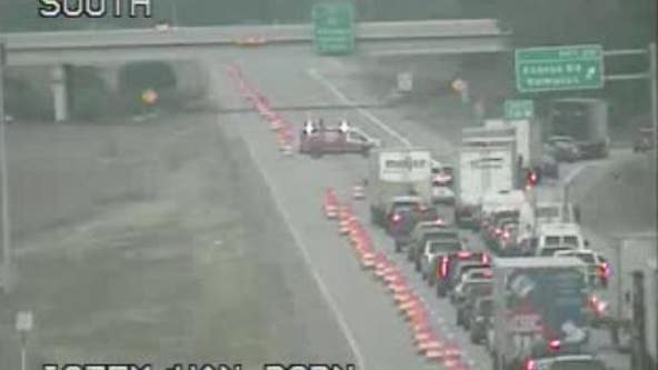 Both directions of I-275 closed at Ecorse, I-94 due to downed power lines