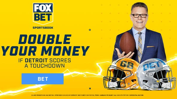 Double Your Money on FOX Bet if the Lions score a TD against the Packers