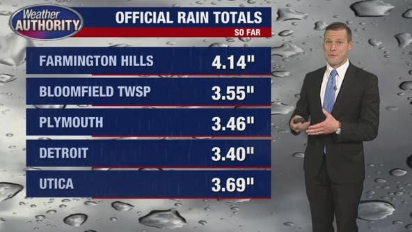 Metro Detroit weather:5 inches of rain in Oakland County in 24 hours, here's what else to expect