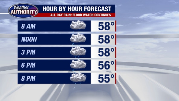 Metro Detroit weather: Rain continues all day Wednesday