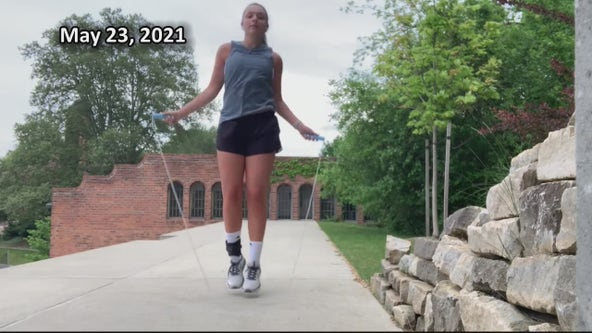 College senior suffers severe spinal injury, unlikely to walk - makes remarkable recovery
