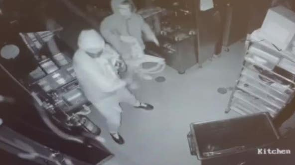 Suspects break into New Hudson gun store but leave empty-handed on video