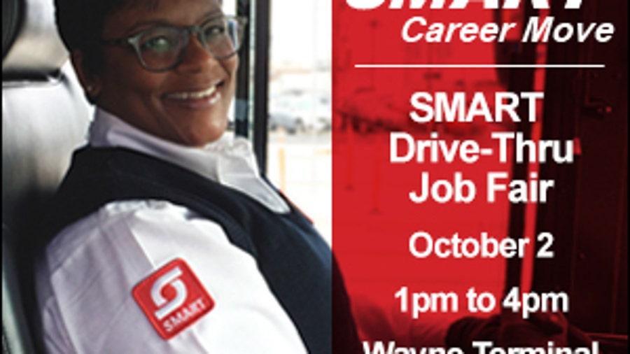 SMART to host drive-thru job fair Oct. 1 for drivers, mechanic, more