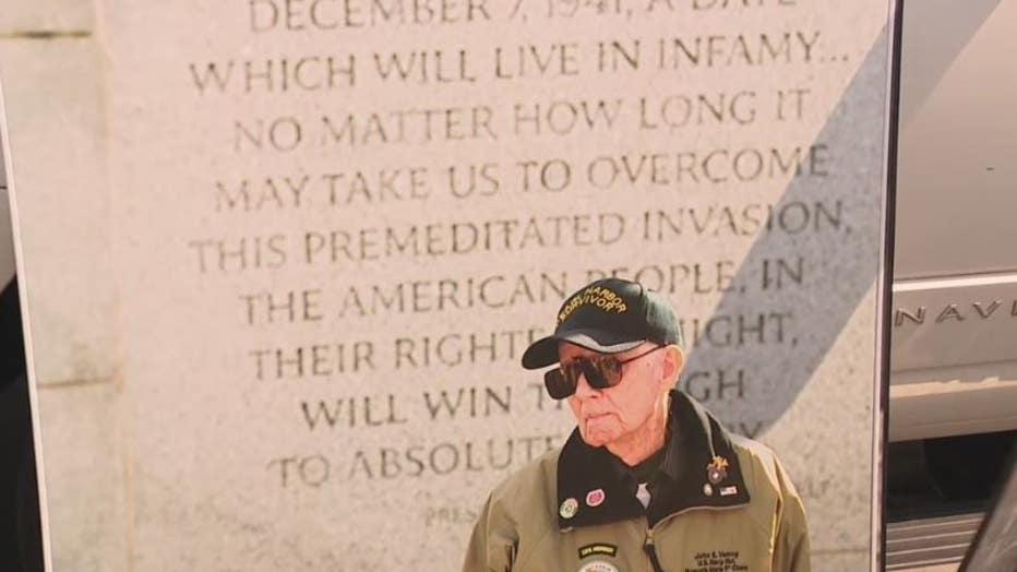 One of Brad Ziegler's photo portraits honoring military veterans.
